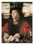 Portrait of a Merchant Prints by Jan Gossaert Mabuse