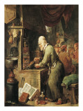 The Alchemist Prints by David Teniers the Younger