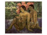 And the Gold of their Bodies Posters by Paul Gauguin