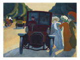 The Avenue of the Acacias in the Bois De Boulogne Giclee Print by Roger De La Fresnaye