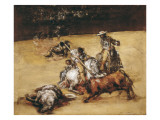 The Bullfight Giclee Print by Francisco de Goya