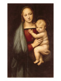 Madonna of the Grand Duke Reproduction procédé giclée par  Raphael