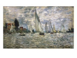 The Boats, or Regatta at Argenteuil Giclée-Druck von Claude Monet