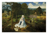 Rest on the Flight into Egypt Prints by Joachim Patenir
