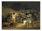 The Third of May 1808 Premium Giclee Print by Francisco de Goya