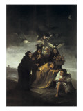 The Spell or the Witches Giclee Print by Francisco de Goya