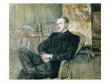 Portrait of Paul Lecrecq Pósters por Henri de Toulouse-Lautrec