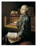 Young Man at the Clavichord Giclee Print