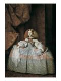 The Infanta Maria Marguerita Poster van Diego Velázquez