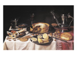 Still Life Prints by Pieter Claesz