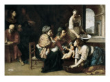 Birth of St John the Baptist Prints by Artemisia Gentileschi
