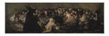 The Witches' Sabbath (Sabbatical Scene) Plakater af Francisco de Goya