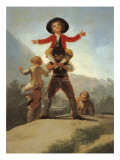 The Little Giants Giclee Print by Francisco de Goya