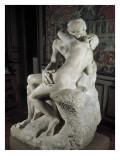 Der Kuss Giclée-Premiumdruck von Auguste Rodin