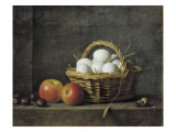 The Basket of Eggs Prints by Henri Horace Roland De La Porte