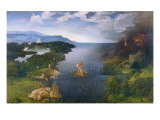 Charon Crossing the Styx Print by Joachim Patenir