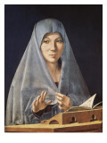 Virgin Annunciate Posters af Antonello da Messina
