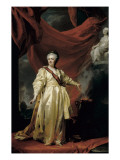 Catherine the Great at the Temple of Justice Prints by Dmitri Grigor'evich Levitsky