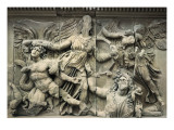 Great Altar of Zeus and Athena Posters