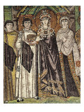 Empress Theodora with Her Court Prints