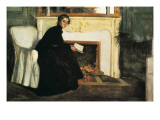 Romantic Novel Giclee Print by Santiago Rusinol