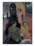 The Great Budda Prints by Paul Gauguin
