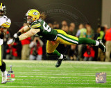 Clay Matthews Action from Super Bowl XLV Photo