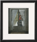 The Red Kerchief: Portrait of Mrs. Monet, c.1868-1878 Print by Claude Monet