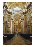 Melk Abbey, Abbey Church Giclee Print by Jakob Prandtauer