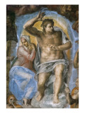 Sistine Chapel, the Last Judgement Giclee Print