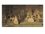 Gersaint's Shopsign Giclee Print by Jean Antoine Watteau