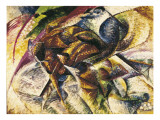 Dynamism of a Cyclist Giclee Print by Umberto Boccioni
