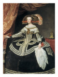 Queen Mariana of Austria Giclee Print by Diego Vel&#225;zquez