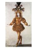 "Louis XIV, Called ""Le Roi Soleil"" (1638-1715) Premium Giclee Print"