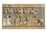 Book of the Dead or Papyrus of Ani Premium Giclee Print