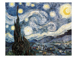 Sternennacht Gicl&#233;e-Druck von Vincent van Gogh