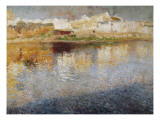 Reflections Premium Giclee Print by Joaquim Mir y Trinxet