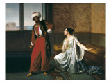 Otello and Desdemona Art by Gaetano Sabatelli