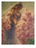 Mammina Giclee Print by Gaetano Previati