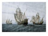 Discovery of America (1492) Giclee Print