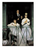 The Balcony Giclee Print by &#201;douard Manet