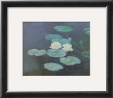 Nympheas Effet du Soir Prints by Claude Monet