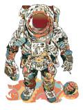 Fly meg til månen Plakat av  HR-FM