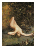 Eve Print by Carlos Verger