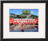 The Detroit Red Wings 2008-09 NHL Winter Classic Framed Photographic Print