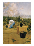 Grapeharvest in Sitges Prints by Joaquim de Miro y Argenter