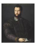 Portrait of Cosimo I Medicis Posters by Agnolo Bronzino