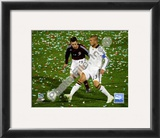 David Beckham 2008 Action, 107 Framed Photographic Print