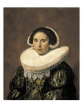 Portrait of a Woman, Possibly Sara Wolphaerts Van Diemen Posters by Frans Hals