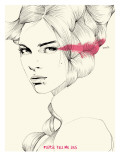 Lies Giclee Print by Manuel Rebollo